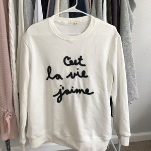 BNWT Off white Pullover Sweater